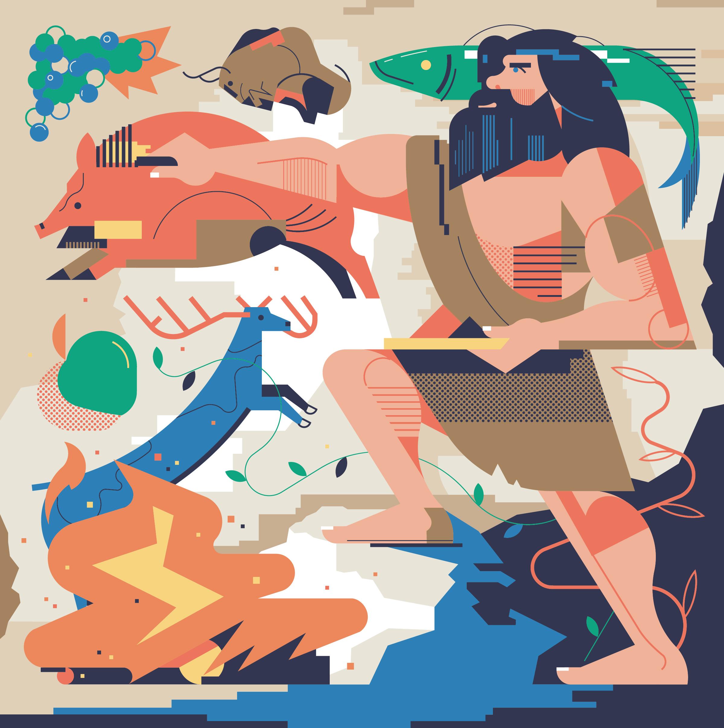 aleksandar-savic_umami-caveman-poster